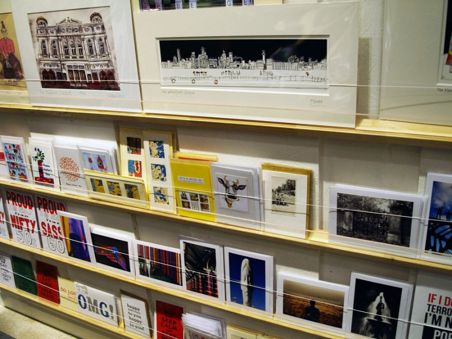 Cards in the Made-Here Pop up Shop