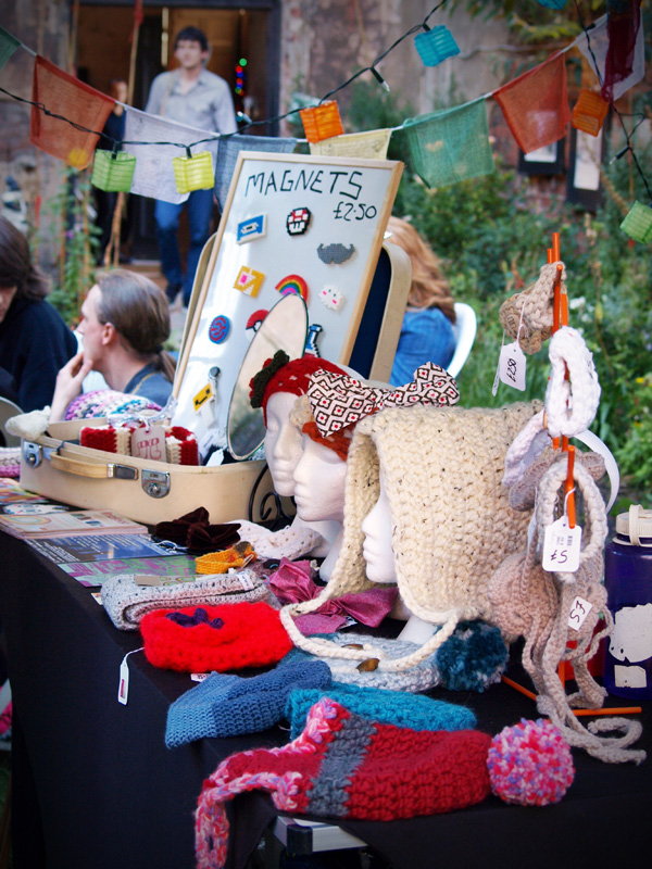 Linziloop Handmade Stall at the bombed out church